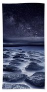 Sea Of Tranquility Hand Towel by Jorge Maia