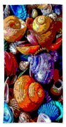 Sea Shell Abstract Bath Towel