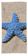 Sea Star - Light Blue Hand Towel