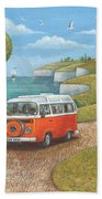 Sea Van Variant 1 Bath Towel