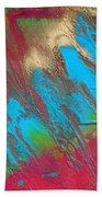 Seabreeze Abstract Painting Bath Towel
