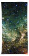 Seagull Nebula Bath Towel