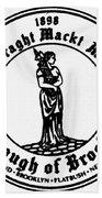 Seal Of Brooklyn Bath Towel