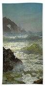 Seal Rock California Bath Towel
