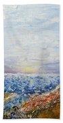Seascape Bath Sheet by Draia Coralia