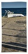 Seaside Park New Jersey Shore Bath Towel