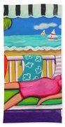 Seaside Siesta Bath Towel
