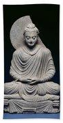 Seated Buddha Bath Towel