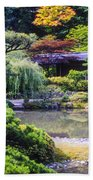 Seattle Tea Garden Bath Towel