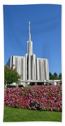Seattle Temple Bath Towel