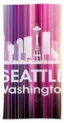 Seattle Wa 2 Bath Towel