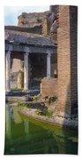 Second Century Villa Of Emperor Hadrian  Bath Towel