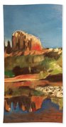 Sedona Cathedral Rock Bath Towel