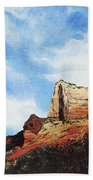 Sedona Mountains Bath Towel