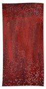 Seductive Embrace- Marsala Art Bath Towel