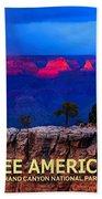 See America - Grand Canyon National Park Bath Towel