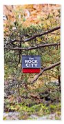 See Rock City Bath Towel