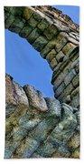 Segovia Aqueduct Arch By Diana Sainz Bath Towel
