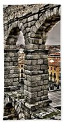 Segovia Aqueduct - Spain Bath Towel