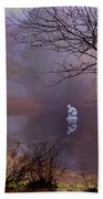 Selene Moon Goddess Fogged In Hand Towel