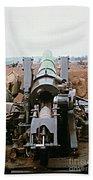 Self-propelled 8 Inch Howitzer M110 Lz Oasis R V N 1968 Bath Towel