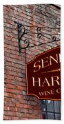 Seneca Harbor Wine Center Bath Towel
