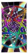 Sense Creation Five Bath Sheet by Derek Gedney
