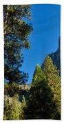 Sentinel Dome, Yosemite Np Bath Towel