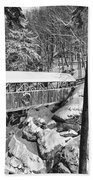 Sentinel Pine Covered Bridge - Franconia Notch State Park New Hampshire Usa Bath Towel