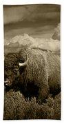 King Of The Herd Bath Towel