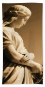 Sepia Angel Dream Bath Towel