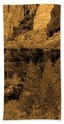 Sepia Red Rock Sedona Bath Towel