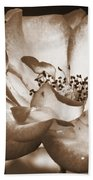 Sepia Tones Bath Towel