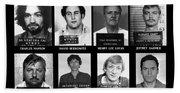 Serial Killers - Public Enemies Hand Towel