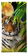 Second In The Big Cat Series - Tiger Bath Towel
