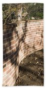 Serpentine Wall University Of Virginia Bath Towel