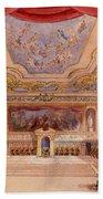 Set Design For The Merchant Of Venice Bath Towel