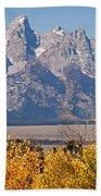 Shadow Mountain Grand Teton National Park Bath Towel