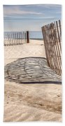Shadows In The Sand II Bath Towel