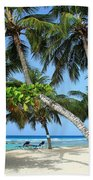 Shady Palms Hand Towel