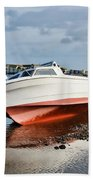 Shaldon-teignmouth Harbour Bath Towel
