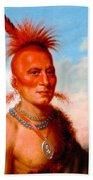 Sharitarish. Wicked Chief. Pawnee Bath Towel