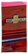 Shelby Gt 500 Mustang 4 Bath Towel