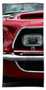 Shelby Mustang Bath Towel