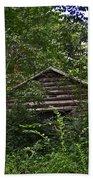 Shenandoah Log Cabin Bath Towel