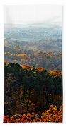 Shenandoah Valley Fall Panorama Bath Towel
