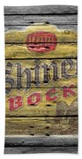 Shiner Bock Bath Towel