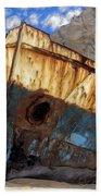 Shipwreck At Smugglers Cove Bath Towel