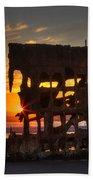 Shipwreck Sunburst Bath Towel