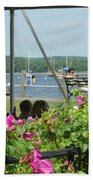 Shore Scene Bath Towel